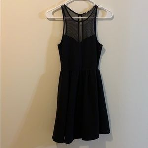 Black Lush cocktail dress